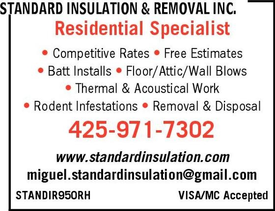 Standard Insulation & Removal, Inc.